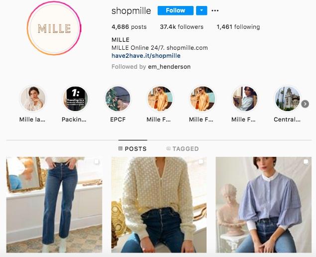 shopmille screenshot